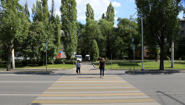 В Воронеже отменили ликвидацию удобных пешеходных переходов
