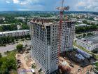 Ход строительства дома № 7 в ЖК Планетарий - фото 14, Июль 2018