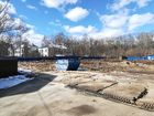 Ход строительства дома № 1, секция 1 в ЖК Заречье - фото 64, Апрель 2020