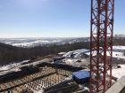 Ход строительства дома № 2 в ЖК Подкова на Родионова - фото 16, Апрель 2021