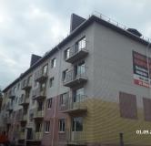 Жилой дом: Городец, ул. Макарова, д. 5 - ход строительства,