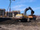 Ход строительства дома Литер 3 в ЖК Самолет 2 - фото 10, Март 2021