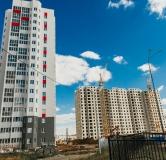 Ход строительства дома № 28 в ЖК Инстеп. Свиридова -