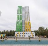 Ход строительства дома Позиция 14 в Жилой квартал ГРИН ПАРК -