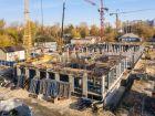 Ход строительства дома № 1 первый пусковой комплекс в ЖК Маяковский Парк - фото 79, Октябрь 2020