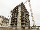 Ход строительства дома Литер 6 в ЖК Южный Берег - фото 14, Январь 2020