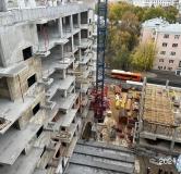 Ход строительства дома на Верхне-Волжской набережной, 2а в ЖК Георгиевский -