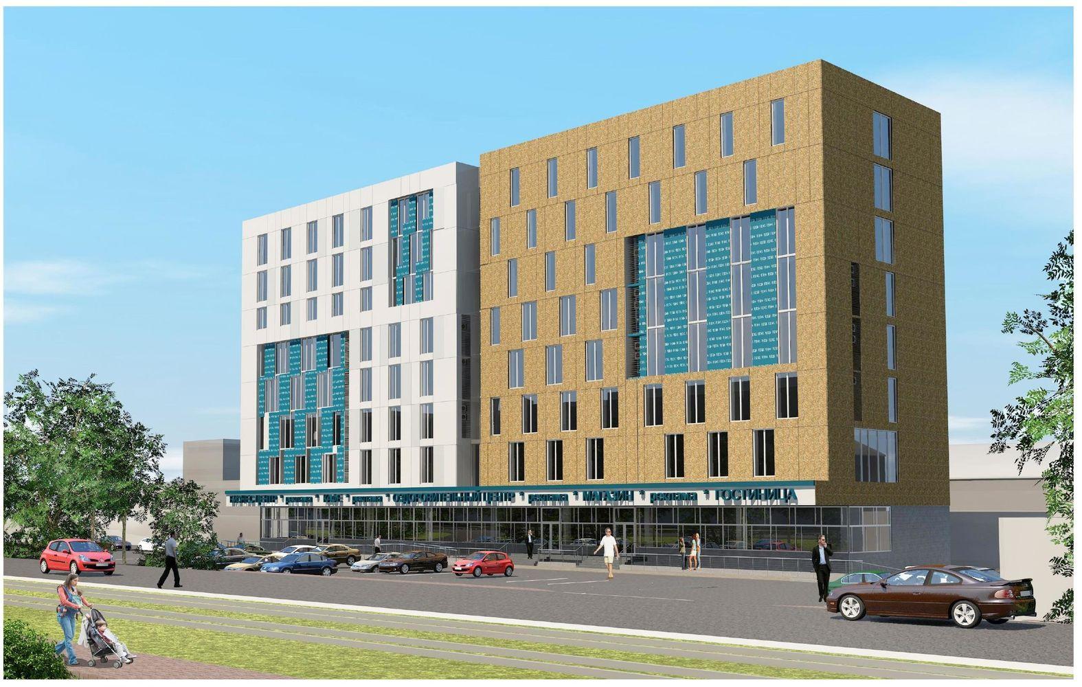 Административно-торговый центр и Апарт-Отель «Гордеевка» в Нижнем Новгороде - фото 1