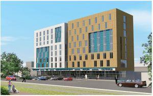 Административно-торговый центр и Апарт-Отель «Гордеевка» в Нижнем Новгороде