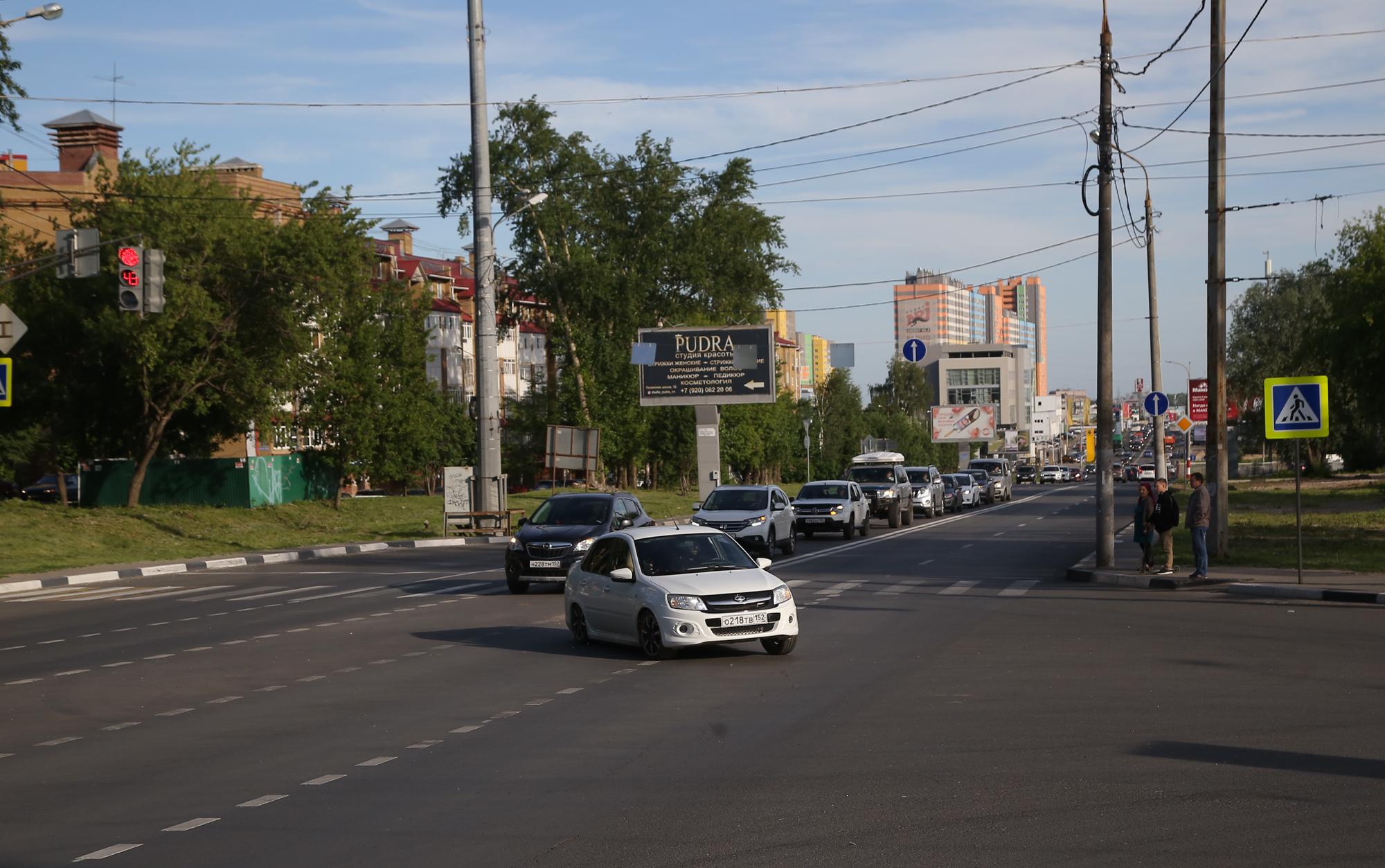 Дополнительные полосы на 60% увеличили пропускную способность Казанского шоссе в Нижнем Новгороде - фото 1