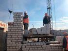 Ход строительства дома № 3А в ЖК Подкова на Гагарина - фото 73, Апрель 2019