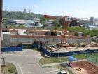 Ход строительства дома № 1 корпус 2 в ЖК Жюль Верн - фото 36, Август 2018