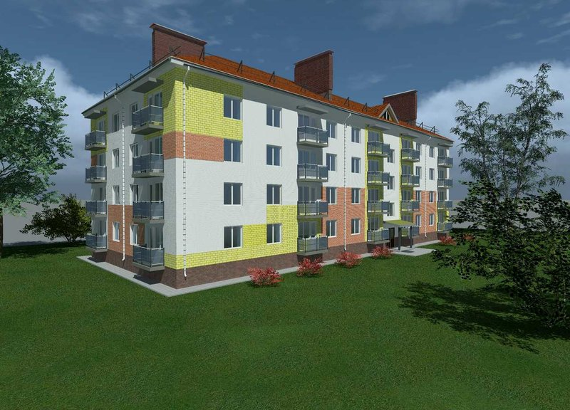 Жилой дом: Городец, ул. Макарова, д. 5 - фото 1