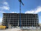 Ход строительства дома Литер 1 в ЖК Династия - фото 46, Август 2018