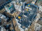 Ход строительства дома №1 в ЖК Премиум - фото 67, Апрель 2018
