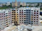Ход строительства дома на участке № 214 в ЖК Солнечный город - фото 48, Июнь 2018
